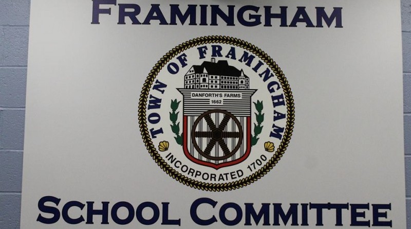 Public Invited To Framingham School Committee Forum on October 30