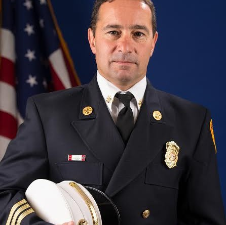 Framingham Fire Chief Joseph Hicks