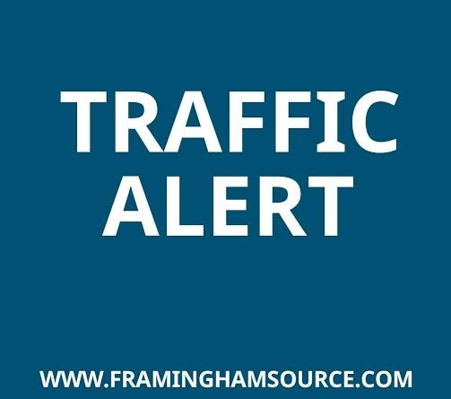 TRAFFIC ALERT: Road Construction on Saturday on Half Dozen Framingham Streets