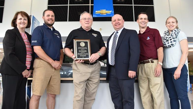 Massbay Presents Award To Herb Connolly Chevrolet Of Framingham