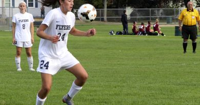 Rosano Scores 2 Goals To Lead Flyers Past Mustangs