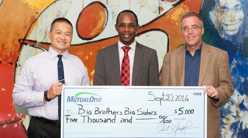 MutualOne Foundation Awards Big Brothers Big Sisters $5,000 Grant