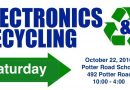 Anything With A Plug Electronics Recycling At Potter Road Elementary Saturday
