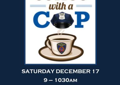 Enjoy Starbucks Coffee With A Framingham Cop