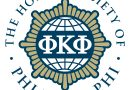 Daly Inducted Into Phi Kappa Phi