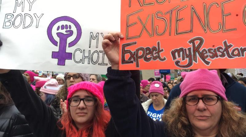 PHOTOS: Framingham Residents Make Trek To Washington DC For Women's March