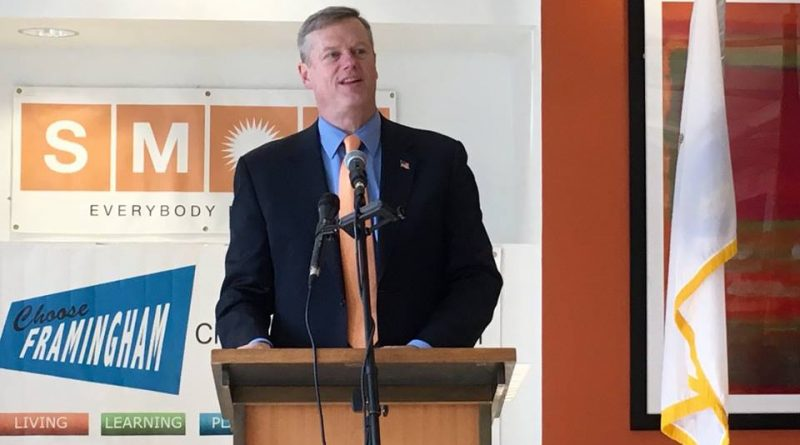 Governor Baker Sends Letter Citing Increased Limitation on Immigrants Have on Commonwealth