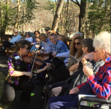 PHOTO OF THE DAY: Heritage Residents Soak Up the Sun