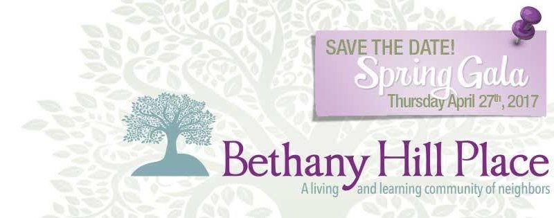 Gala to Benefit Bethany Hill Place on April 27