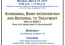 Adolescent Screening, Intervention, Treatment Panel Monday at MetroWest Medical Center
