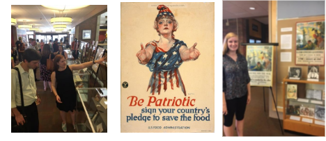 UPDATED: Framingham State Hosting Exhibit of Food Posters From World War I