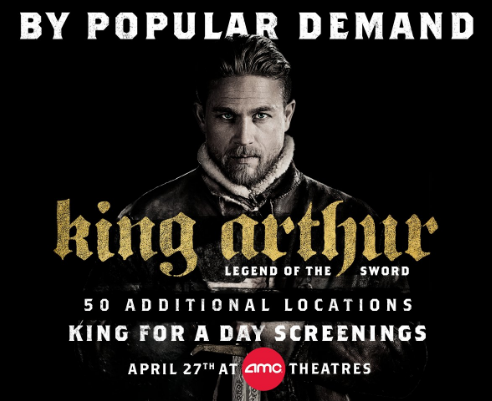 Be 'King For A Day' At Free AMC Framingham Theatre Screening