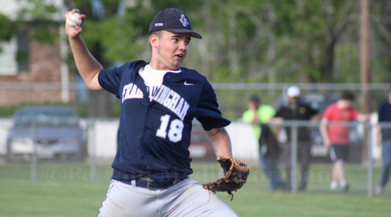 Red Hawks Shut Out Flyers on the Diamond