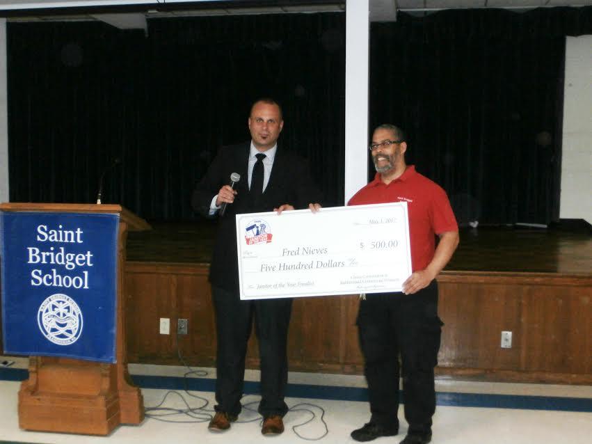 Cintas Awards $500 To Saint Bridget's Janitor - Framingham