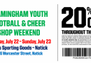 Framingham Youth Football and Cheerleaders Shopping Deal at Dick's Sporting Goods