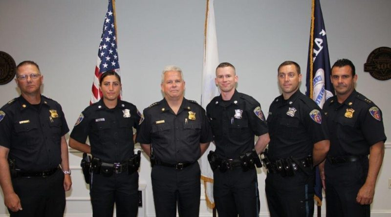 Framingham Swears in 3 New Police Officers