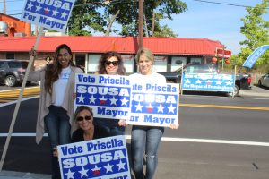 Priscilla Sousa supporters