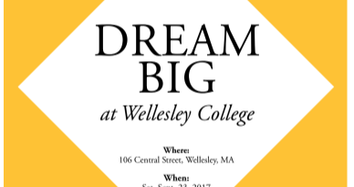 Framingham Students Invited To 'Dream Big' Event At Wellesley College Saturday
