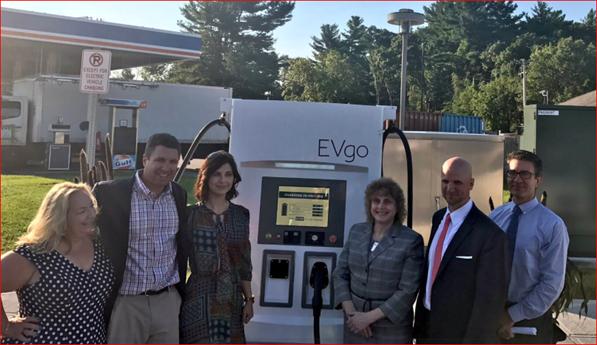 MassDOT Installing 6 Electric Vehicle Charging Stations Along Mass Pike