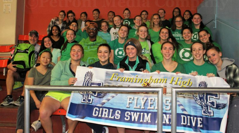 Updated Flyers Swim And Dive Defeat Amsa To End Regular