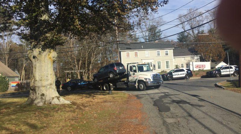 Traffic Alert: Detour On Pond Street Following Crash
