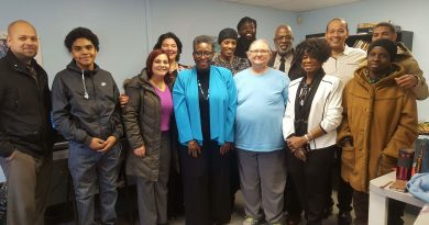PHOTOS: Framingham Mayor-Elect Visits Pelham Apartments