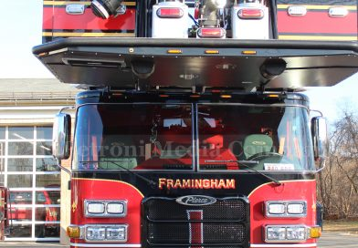 Framingham Fire Log: 133 Medical Calls, 9 Motor Vehicle Crashes, and One Person Hospitalized in Apartment Fire