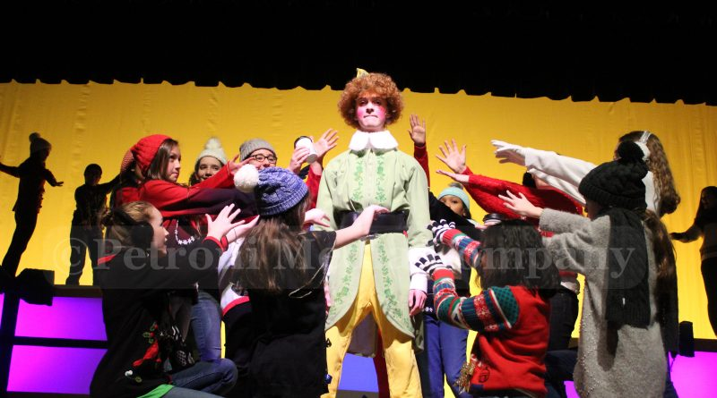 SLIDESHOW: Cameron Middle School Staging Elf Jr. This Weekend