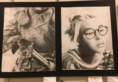 PHOTO OF THE DAY: Framingham Student Art on Display At Library