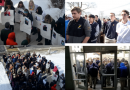Marian Students Lead Walkout
