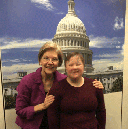 Framingham Resident Participates in Buddy Walk at Washington DC Advocacy Conference