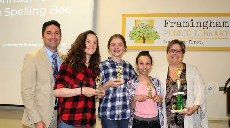 PHOTO OF THE DAY: Cameron 7th Graders Win 5th Annual Framingham Spelling Bee