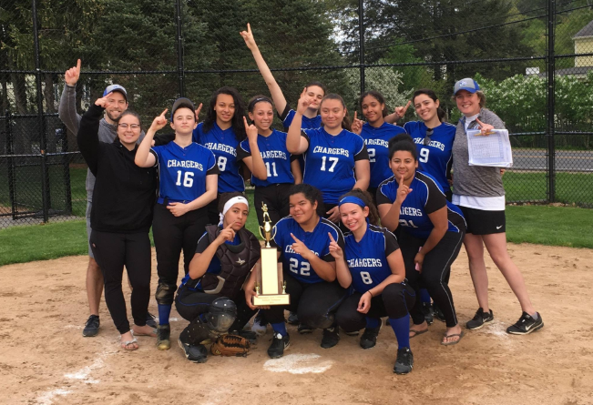 Framingham Athlete Member Of Chapel Hill-Chauncy Hall Softball Championship Team