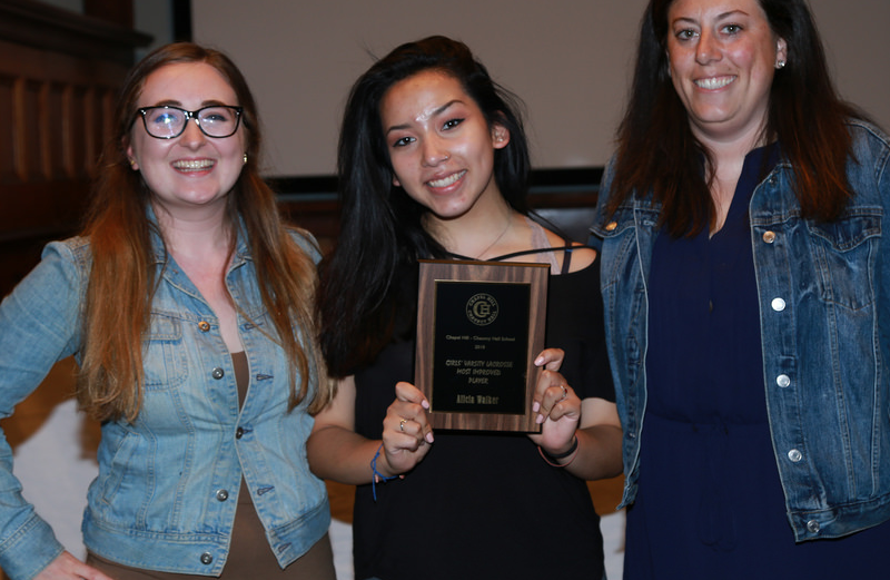 walker wins girls lax most improved award framingham source
