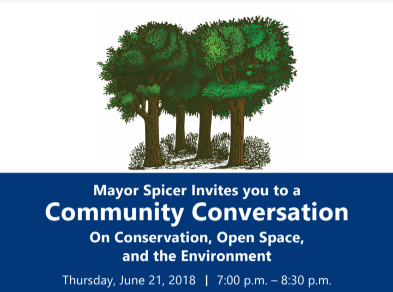 Mayor Hosting Community Conversation on Conservation, Open Space, and Environment on June 21