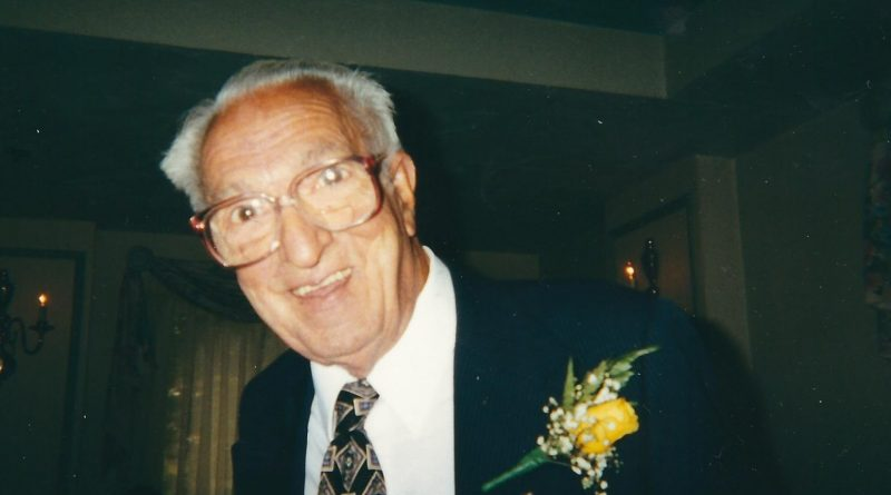 Alfred 'Freddie' Meninno, 98, World War II Veteran, Former Grand Knight