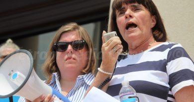 SLIDESHOW and VIDEOS: 'Families Belong Together' As Hundreds Protest in Framingham