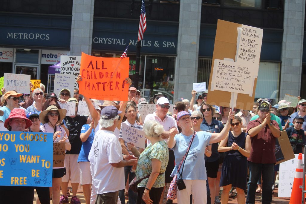 SLIDESHOW and VIDEOS: \'Families Belong Together\' As Hundreds Protest ...