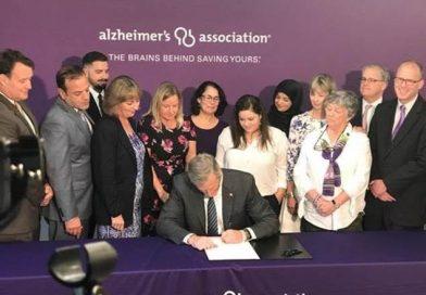 Governor Baker Signs Law Strengthening Alzheimer's and Dementia Treatment in Massachusetts