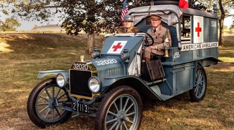 World War I Ambulance 255 Coming To Framingham