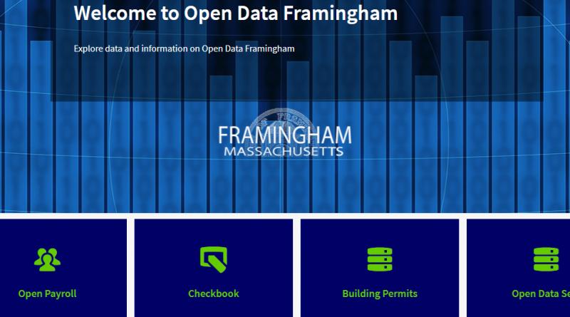 UPDATED: City of Framingham Launches Open Data Framingham