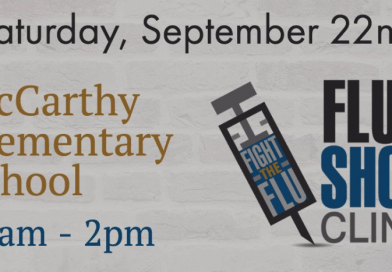 UPDATED: City Hosting Flu Clinic at McCarthy Elementary on September 22
