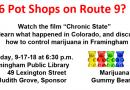 VIDEO: Councilor Grove Hosting Meeting Monday Night on Controlling Marijuana in Framingham
