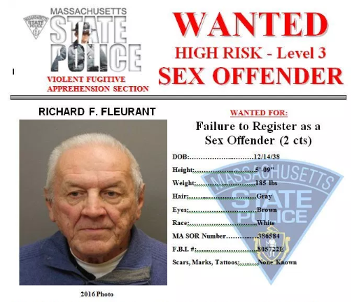 Most wanted sex offenders in mass