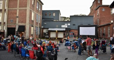 PHOTOS: Saxonville Mills Hosts Outdoor Movie Night