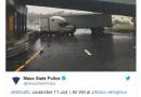 TRAFFIC ALERT: Truck Blocking Mass Pike in Allston/Brighton