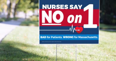 LETTER: Vote No on Question 1; Leave the Decision Making To the Nurses