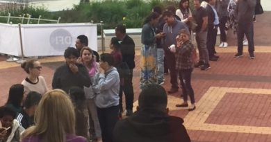 PHOTOS: Brazilians Line Up To Vote For President at Framingham City Hall Sunday