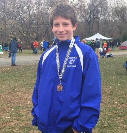 Burgess Qualifies For National Junior Olympic Cross-Country Meet