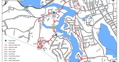 TRAFFIC ALERT: DPW Pumping Water From Singletary Lane This Weekend